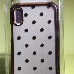 Onn Polka Dots iPhone X Phone Case